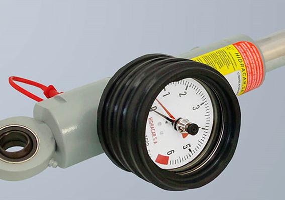 Load mesuring cylinder