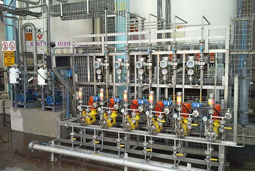 Courtessy of ECOCHEM. Chemical plant dossing systems
