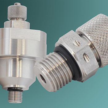 BSP charging valve plug