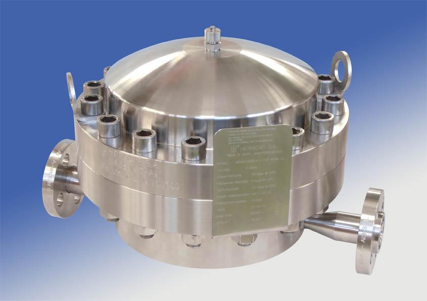 Amortiguadores de membrana con doble conexión al circuito